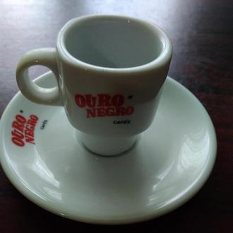 24..OURO NEGRO..Чашка +блюдечко ..колекційні