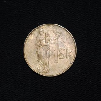1 крона 1993 г Словакия