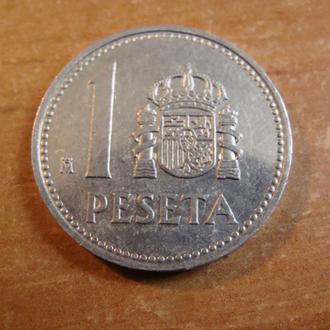 Испания 1 песета 1985