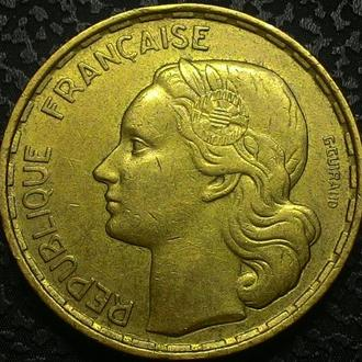 Франция 50 франков 1952 год ОТЛИЧНАЯ!!!