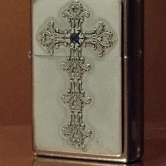 Зажигалка Zippo Antique Pewter Cross