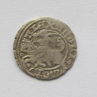 полугрош 1501-1506гг Александр Ягелончик , Литва, Вильно (А17)