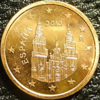 2 євроценти 2013 Іспанія UNC
