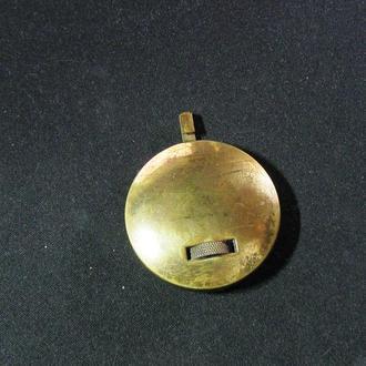 Маятник от настольных каминных часов Германия Франция 19-18 век золочение