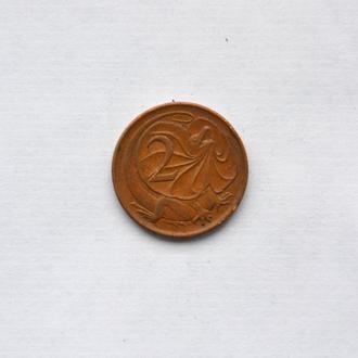 Австралия - 2 цента 1966