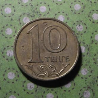 Казахстан 2011 год монета 10 тенге !
