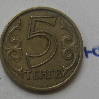 КАЗАХСТАН 5 тенге 2000 года .