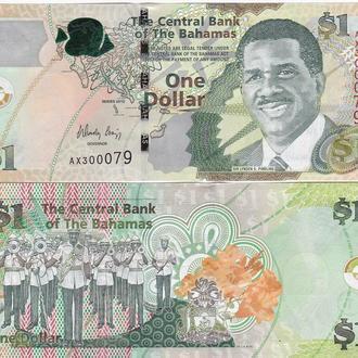 Bahamas Багамы Багамские 1 Dollar 2015 UNC Javir