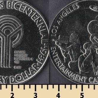 США 1 торговый доллар 1981