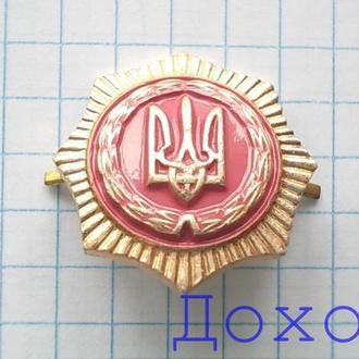 Эмблема родов войск МВС Украина герб №2