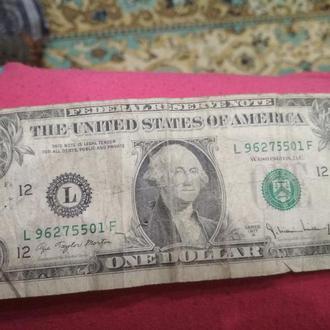 1 Доллар 1977года