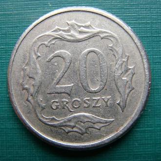 Польша 20 грош 1998