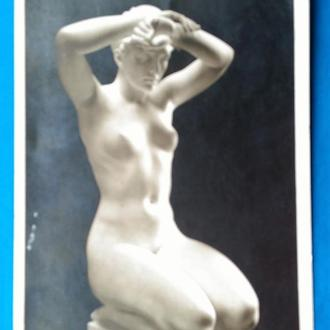 Arno Breker Die Knieende. открытка до 1917 г