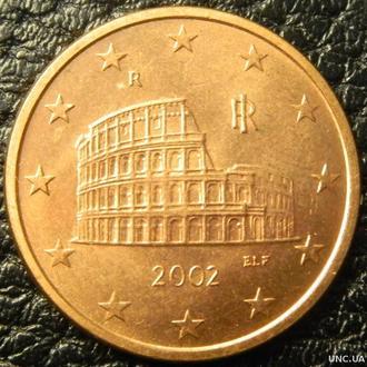 5 євроцентів 2002 Італія