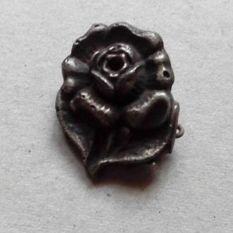 Знак Роза Фашистская Германия Знак симпатики поддержки Вермахта времен 3 Рейха