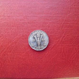 Канада 5 центов 1944