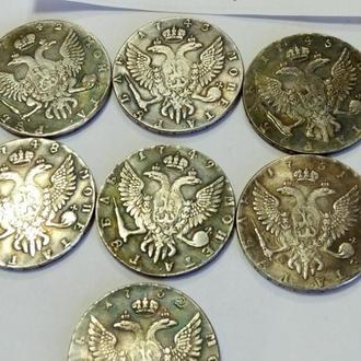 Монеты времён правления Елизаветы
