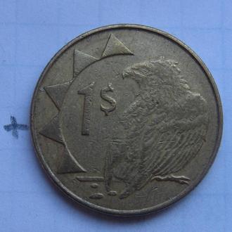 НАМИБИЯ. 1 доллар 2008 года (ОРЕЛ).