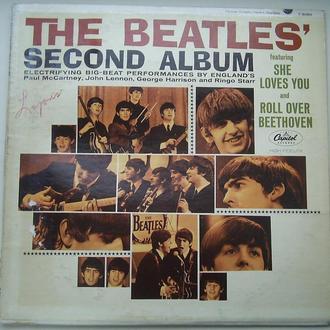 THE BEATLES The Beatles' Second Album LP VG/G+