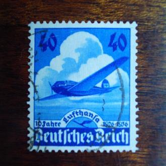 3-ий Рейх.1936г. Самолёт. Полная серия.