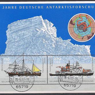ФРГ, 2001 г., 100 - летие освоения Арктики