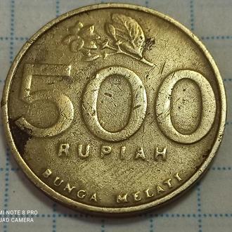 ИНДОНЕЗИЯ, 500 рупий 2001