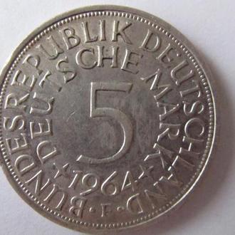 5 Марок 1964г