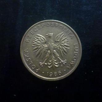 5 злотых (1986) Польша.