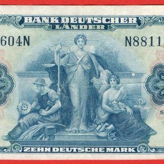 10 Марок 1949,(30) Германия ФРГ