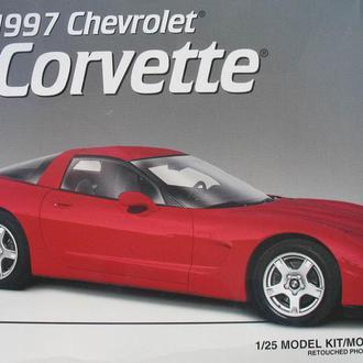 Сборная модель автомобиля Chevrolet  '97 Corvette   1:25 AMT