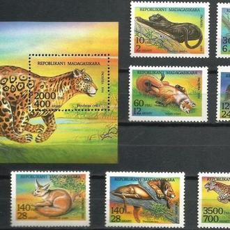 фауна Мадагаскар-1994 животные Африки