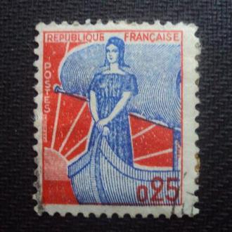 Франция 1959г. гаш.