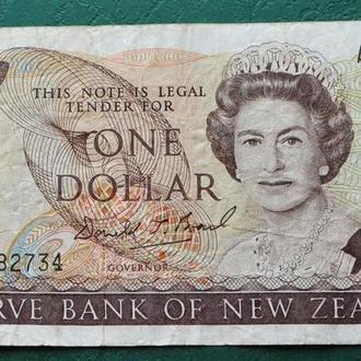Новая Зеландия 1 доллар