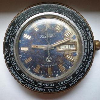 часы ракета города 21087