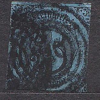 Немецкие земли, Thurn und Taxis, 1852-58 гг., первые марки, марка № 8
