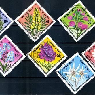 Монголия. Цветы (серия) 1979 г.