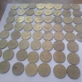 293 монеты 1992,1994,1995,1996. годов одним лотом