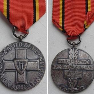 Медаль за взятие Берлина, Польша