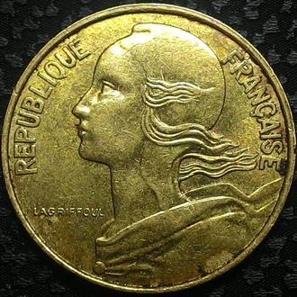 Франция 10 сантимов 1989 год