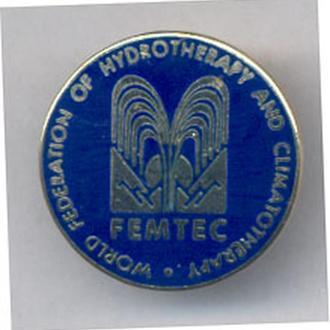 Знак Медицина Всемирная организация специалистов Водной и климатической терапии.