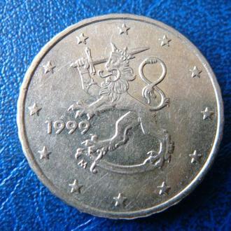 Финляндия 10 центов 1999