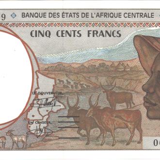 Экваториальная Гвинея 500 франков 1993 г. в UNC