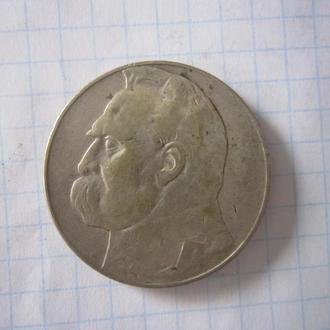 ПОЛЬША. 10 ЗЛОТЫХ  1935 Г