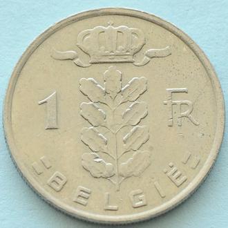 (А) Бельгия 1 франк, 1980 'BELGIE'