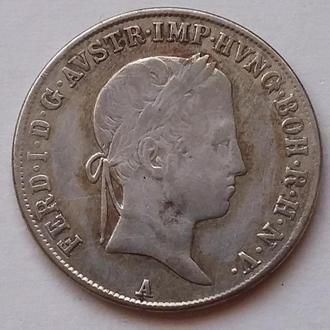 20 крейцеров 1841 А  г  Австро - Венгрия
