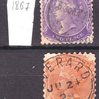 GB  Колонии . Австралия - - Южная Австралия 1868 - 1876  г -