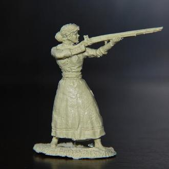 женщина-первопоселенец пионер  (LOD BARZSO) 54мм США