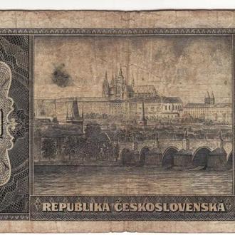 Чехословакия 100 крон 1945