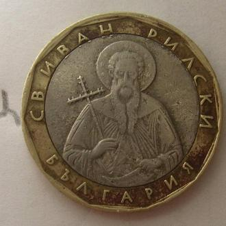 БОЛГАРИЯ, 1 лев 2002 г. (СВ. ИВАН РЫЛЬСКИЙ).