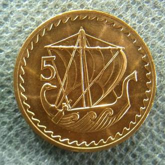 Кипр 5 милей 1972